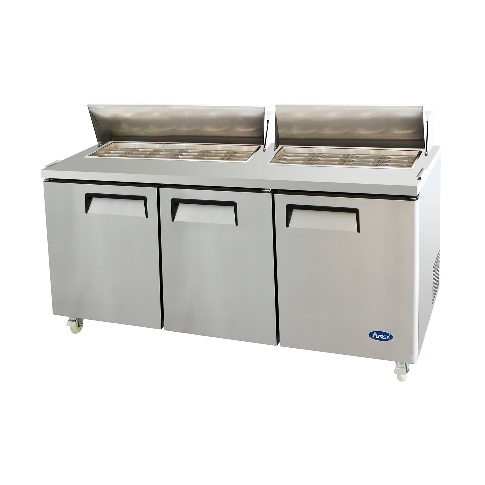 Atosa USA MSF8308GR refrigerated counter, mega top sandwich / salad unit