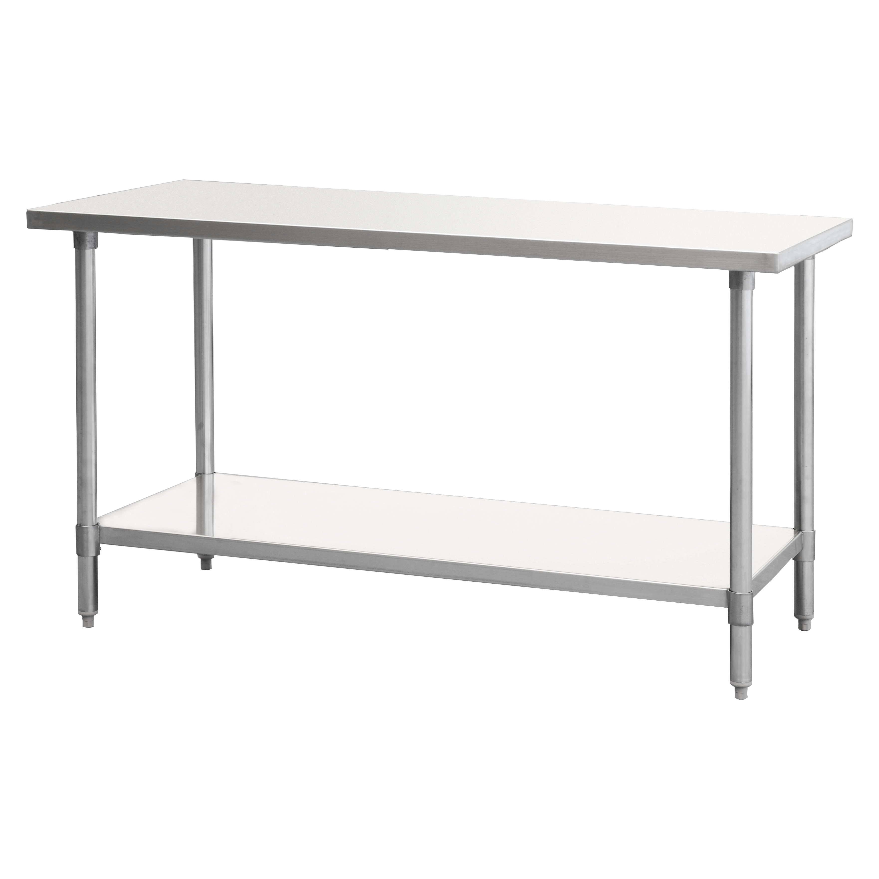 Atosa USA SSTW-2460 work table,  54 - 62, stainless steel top