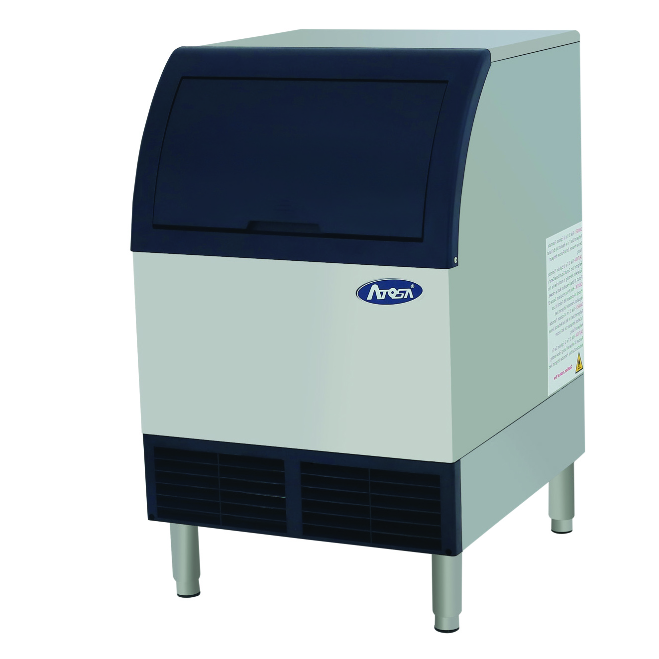 Atosa USA YR140-AP-161 ice maker with bin, cube-style
