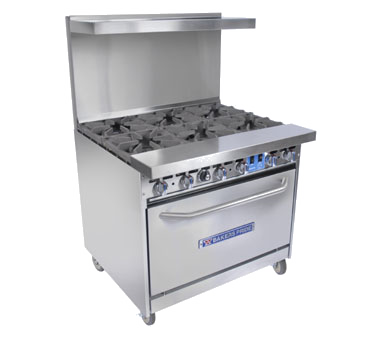 Bakers Pride 36-BP-4B-G12-S30 range, 36