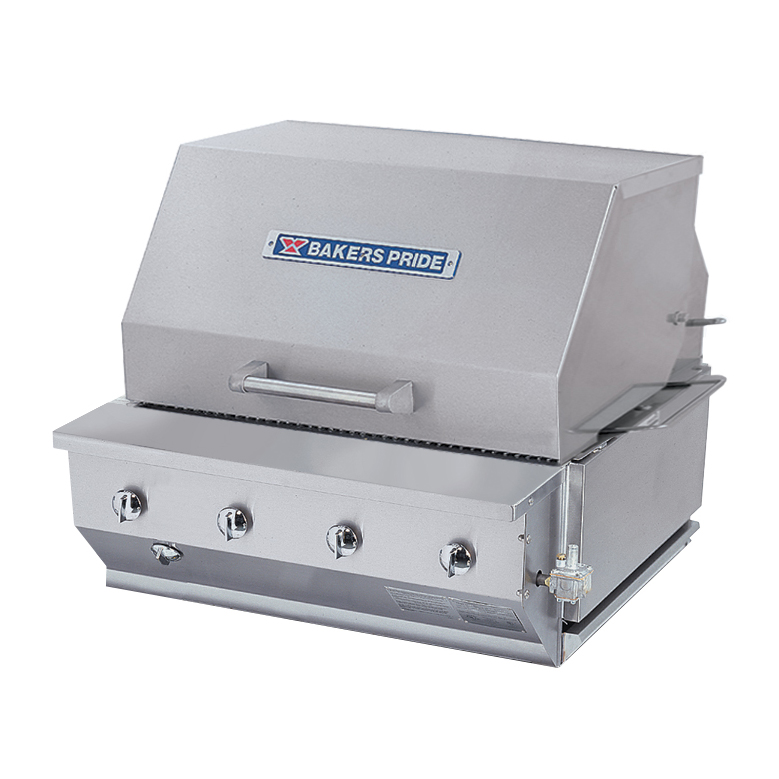 Bakers Pride CBBQ-30BI charbroiler, gas, outdoor grill