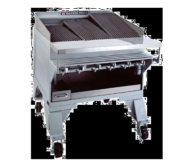 Bakers Pride CH-8 charbroiler, gas, floor model