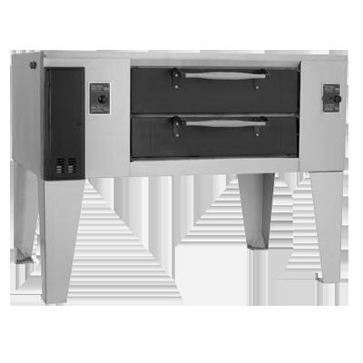 Bakers Pride D-250 DSP oven, deck-type, gas