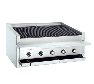 Bakers Pride L-36R charbroiler, gas, countertop