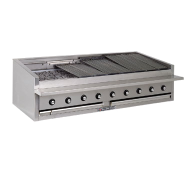 Bakers Pride L-48R charbroiler, gas, countertop