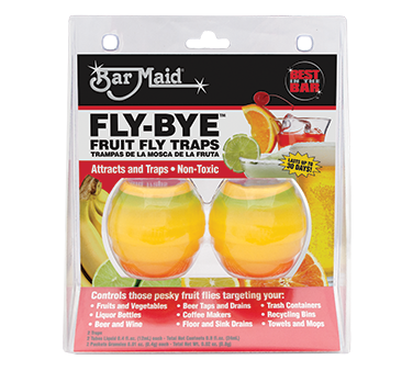 Bar Maid/Glass Pro FLY-BYE insect trapper