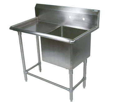 John Boos 1PB18244-1D18L sink, (1) one compartment