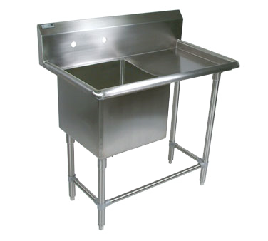 John Boos 1PB18244-1D30R sink, (1) one compartment