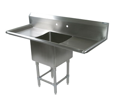 John Boos 1PB18244-2D30 sink, (1) one compartment