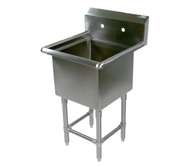 John Boos 1PB30244 sink, (1) one compartment