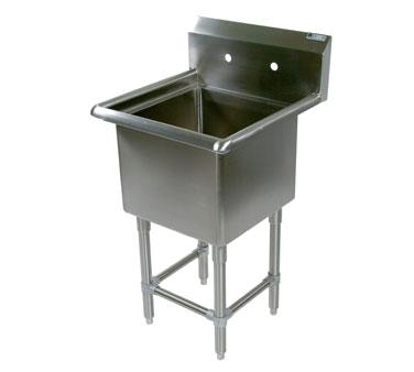 John Boos 41PB16204 sink, (1) one compartment