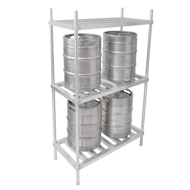 John Boos ALKR-2080 keg storage rack
