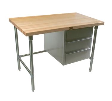 John Boos BTNS03A work table, wood top