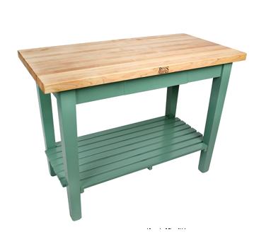John Boos C4830-2S work table, wood top