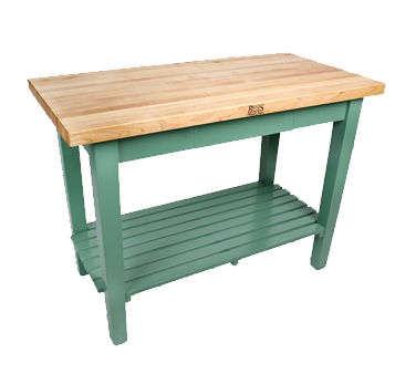 John Boos C4836-S work table, wood top