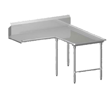 John Boos CDT4-I6048SBK-R dishtable, clean