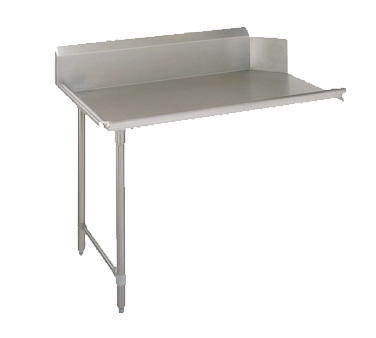 John Boos CDT4-S72SBK-L dishtable, clean straight