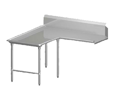 John Boos CDT6-I6096SBK-L dishtable, clean