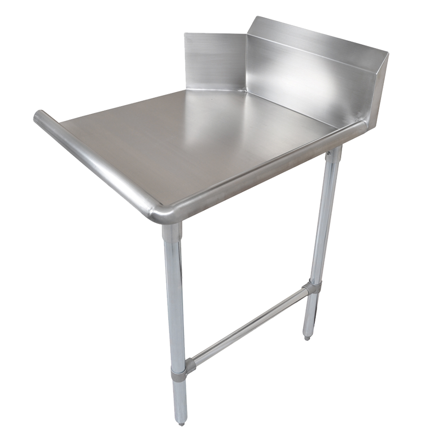 John Boos CDT6-S72GBK-R dishtable, clean straight