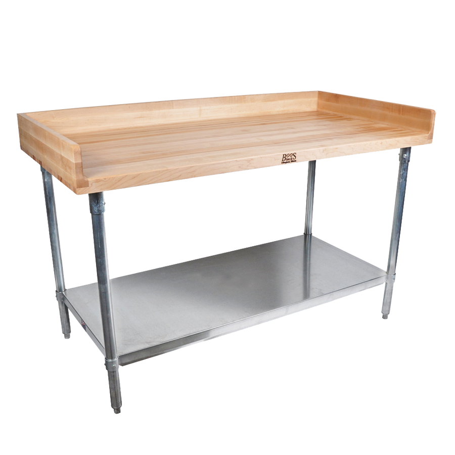 John Boos DSS08A work table, bakers top
