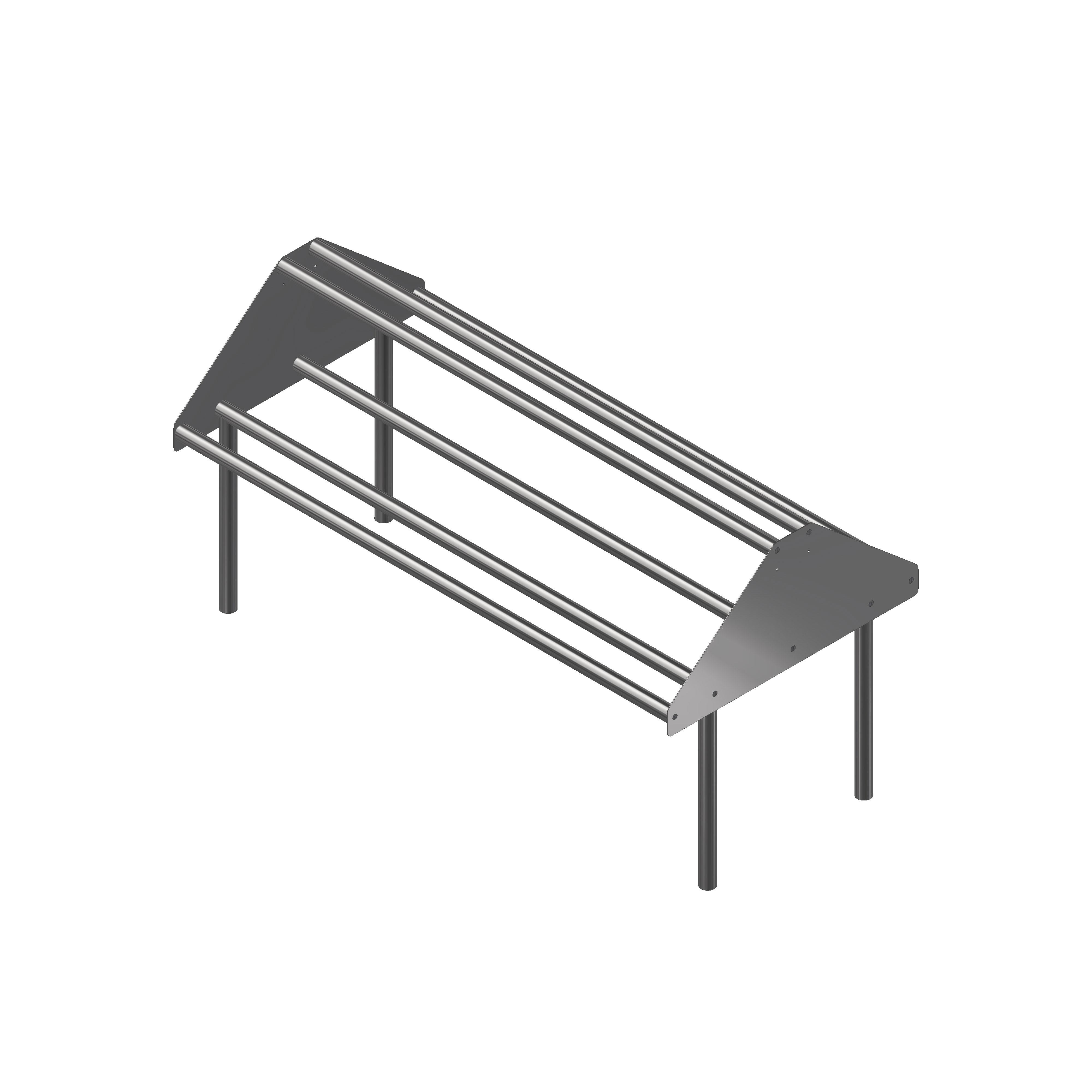 John Boos DTSS-30108-T dishtable sorting shelf