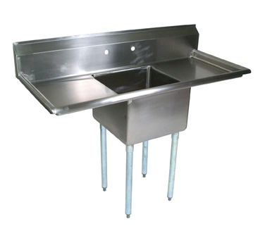 John Boos E1S8-1620-12T18 sink, (1) one compartment