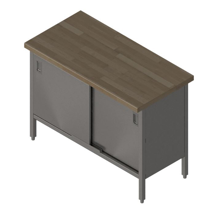 John Boos EBSW7-3048 work table, wood top