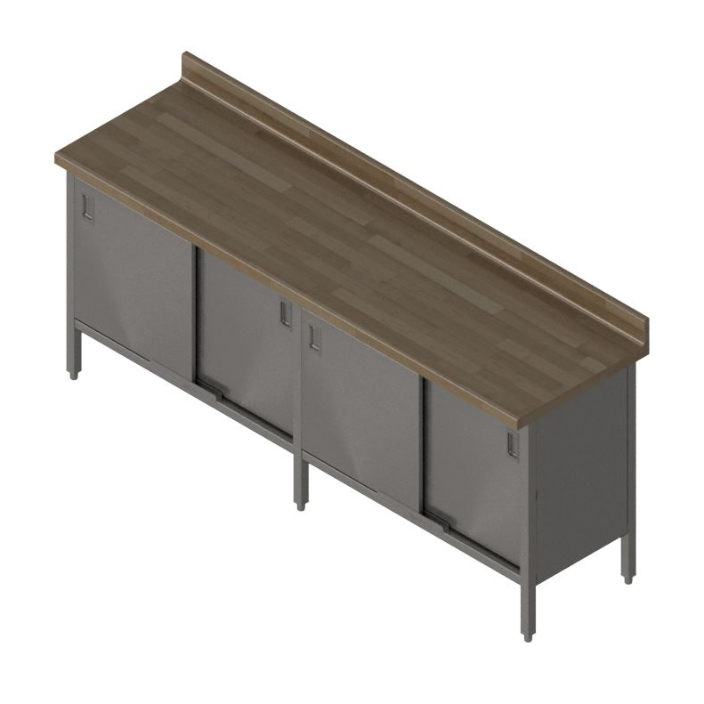 John Boos EBSW7R4-24132 work table, wood top