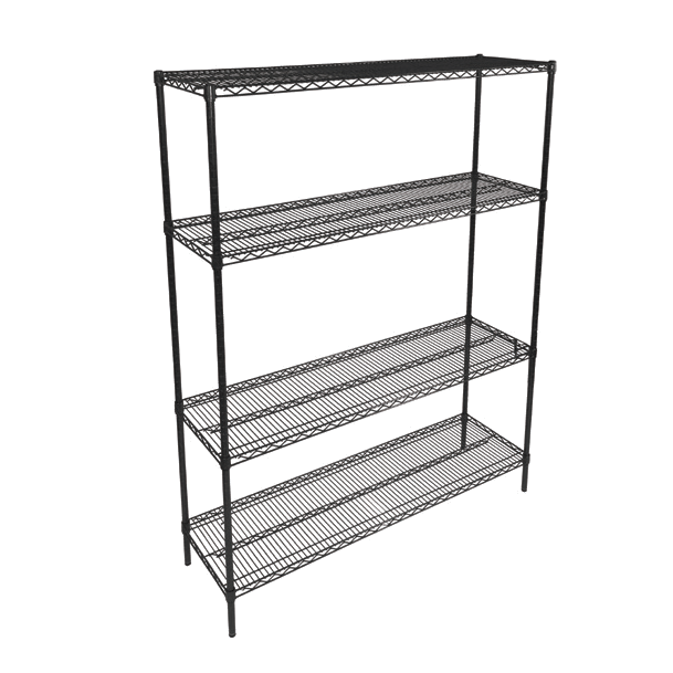John Boos EP-143666-BK shelving unit, wire