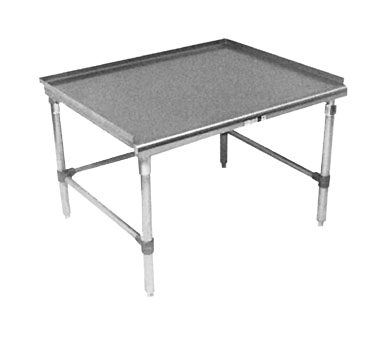 John Boos GS6-3072SBK equipment stand, for countertop cooking