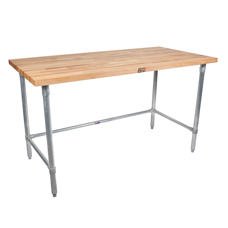 John Boos HNB17 work table, wood top