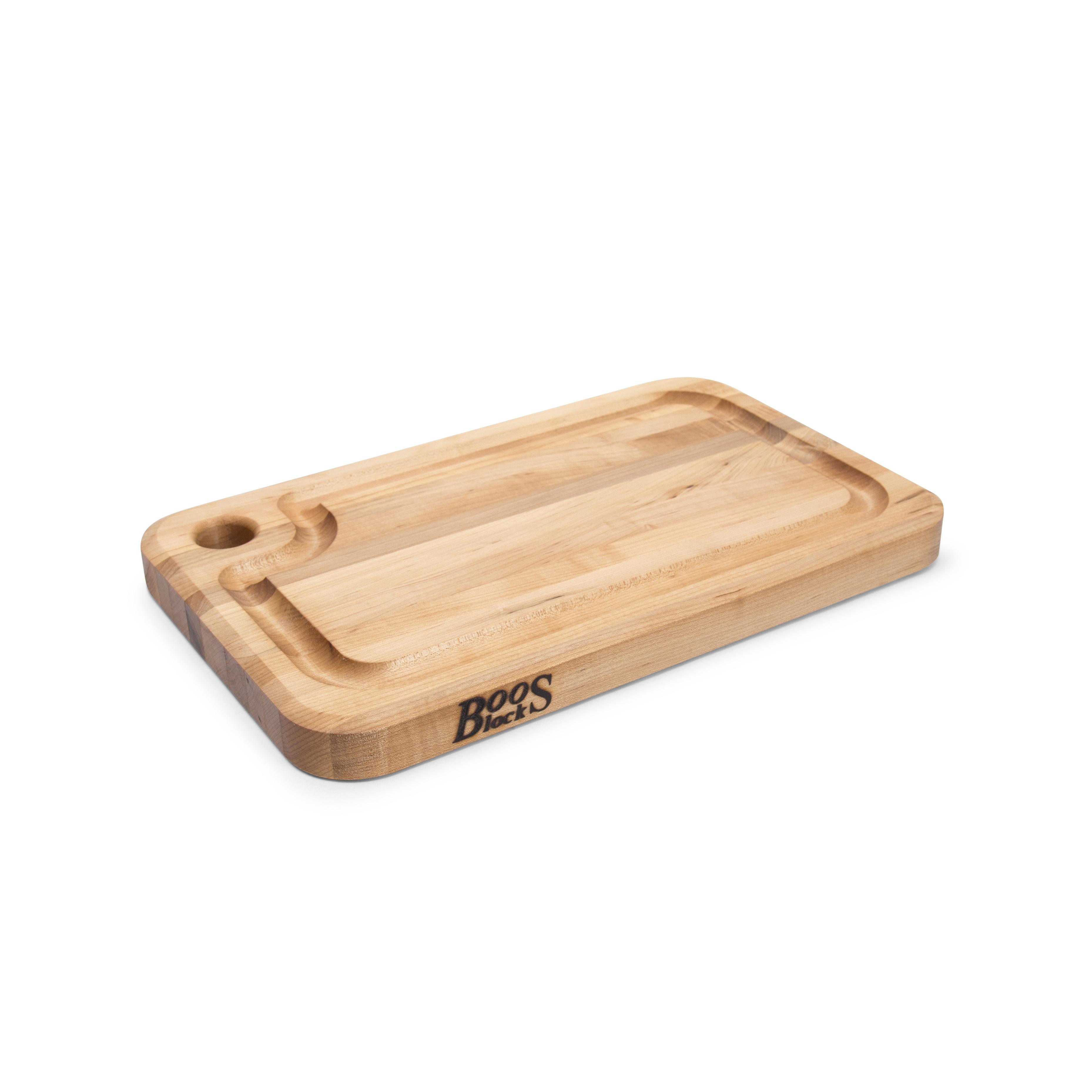 John Boos MPL1610125-FH-GRV cutting board, wood