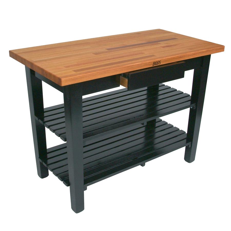 John Boos OC6025 work table, wood top