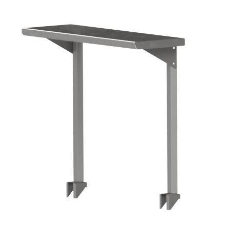 John Boos OSC16FK-1284 overshelf, table-mounted, cantilever type