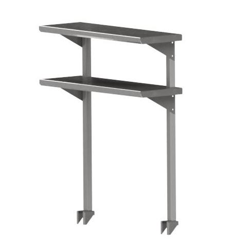 John Boos OSC26FK-18144 overshelf, table-mounted, cantilever type