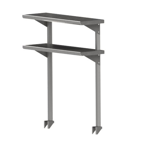 John Boos OSC26FK-1848 overshelf, table-mounted, cantilever type
