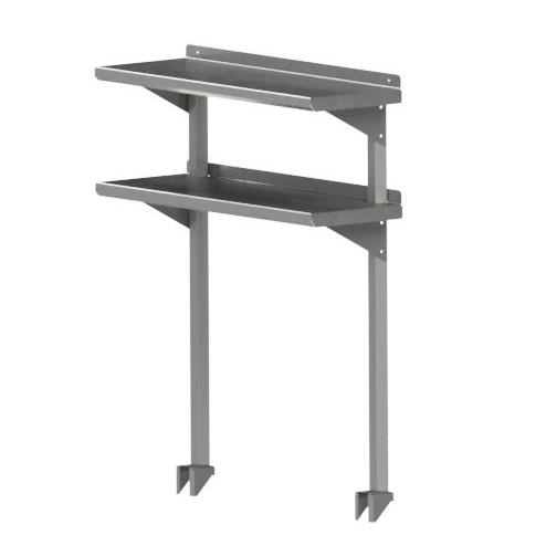John Boos OSC26RK-1872 overshelf, table-mounted, cantilever type