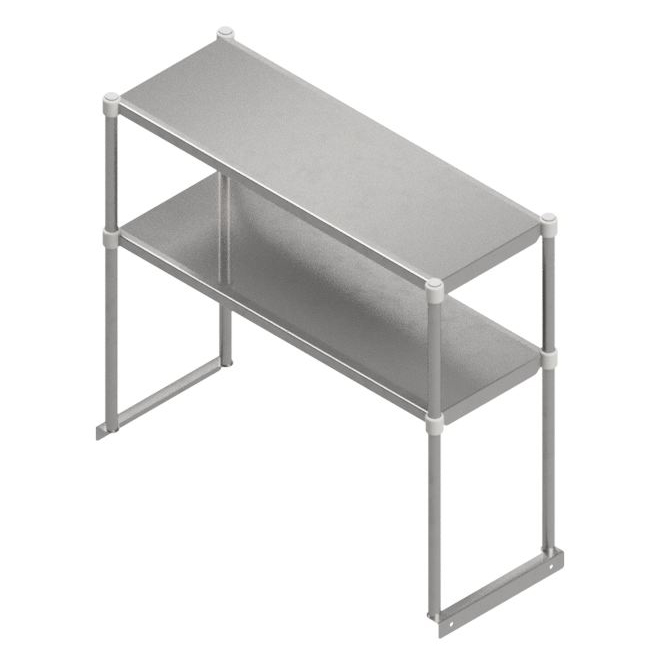 John Boos OSE26FK-12132 overshelf, table-mounted