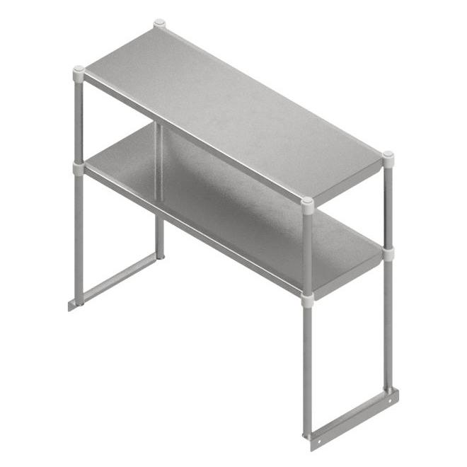 John Boos OSE26FK-1860 overshelf, table-mounted