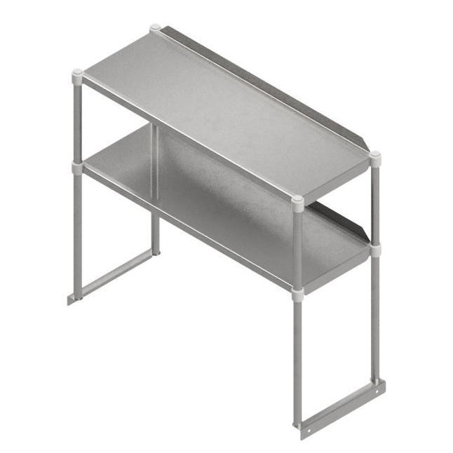 John Boos OSE26RK-1248 overshelf, table-mounted