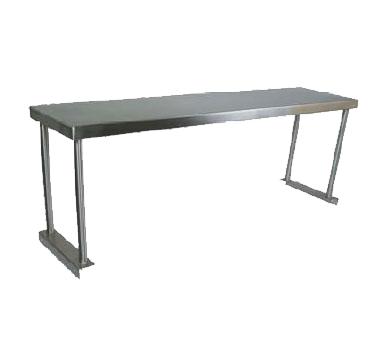 John Boos OS-ES-1272 overshelf, table-mounted