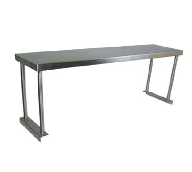 John Boos OS-ES-1848 overshelf, table-mounted