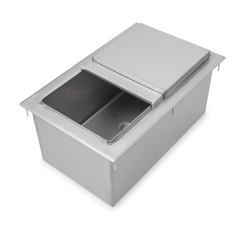 John Boos PB-DIIB3418 ice bin, drop-in