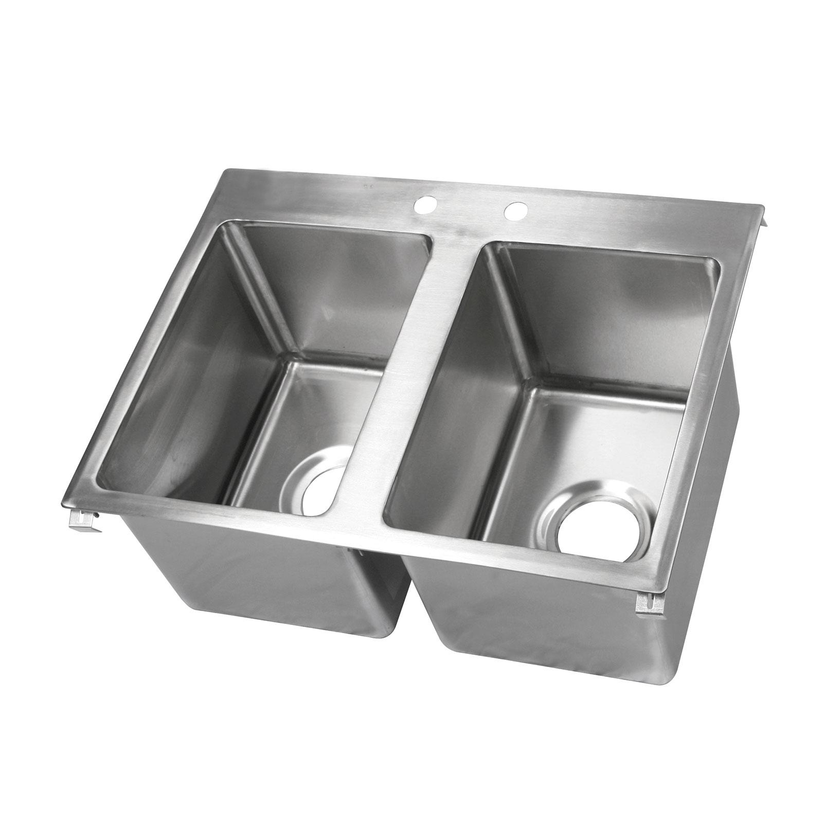 John Boos PB-DISINK141610-2 sink, drop-in