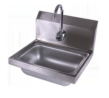 John Boos PBHS-1410-EE sink, hand