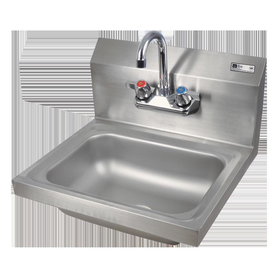 John Boos PBHS-W-1410-P sink, hand