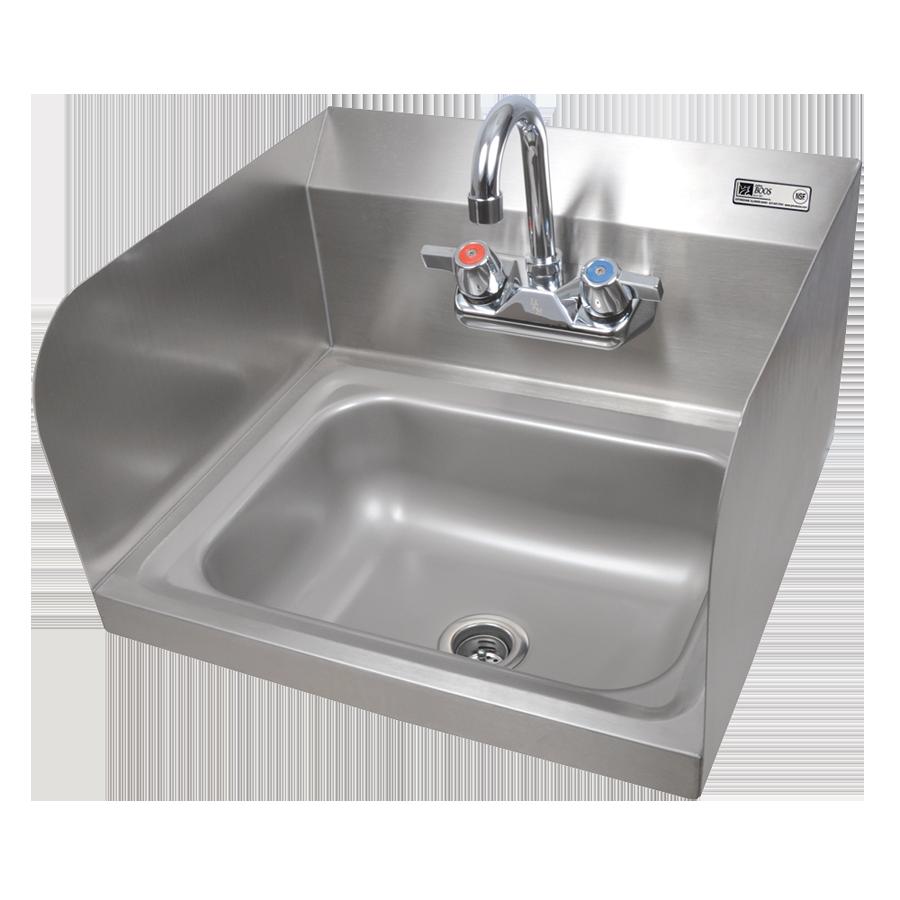 John Boos PBHS-W-1410-P-SSLR sink, hand