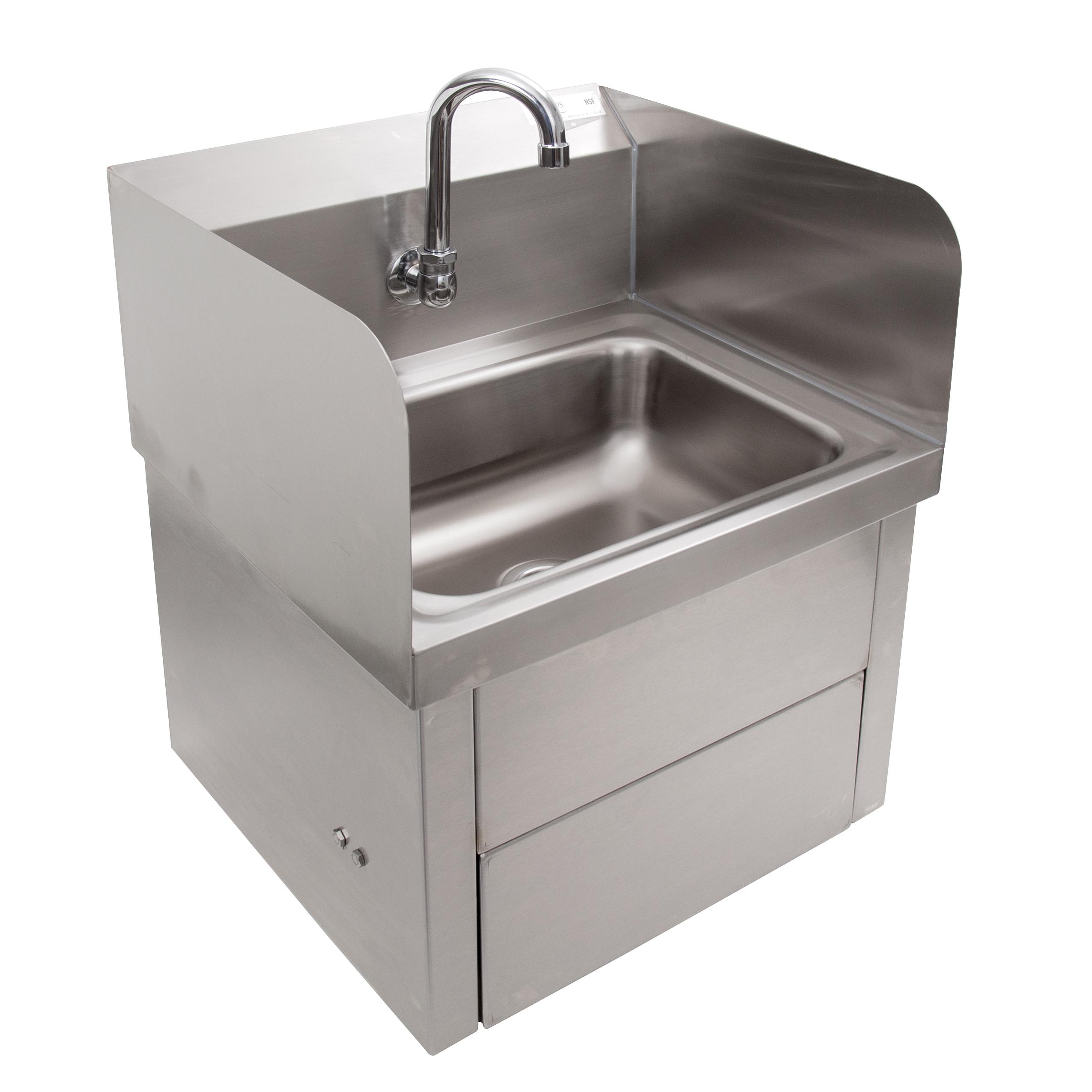 John Boos PBHS-W-1410-KV1APS-SS sink, hand