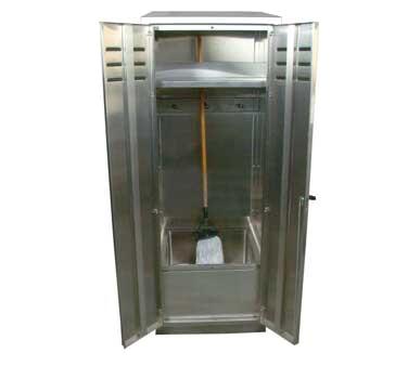 John Boos PBJC-222584 mop sink cabinet