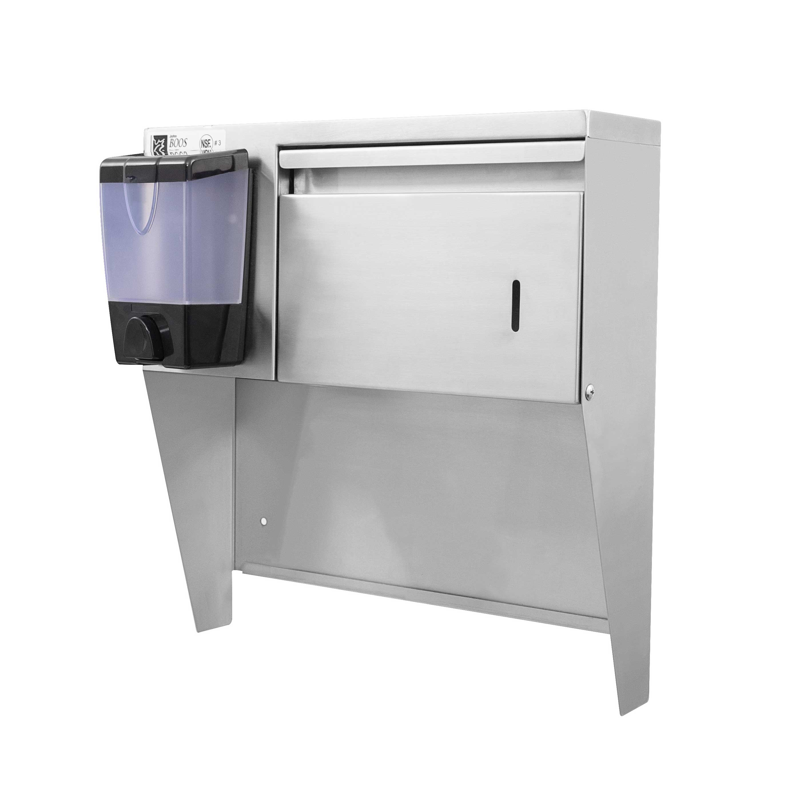 John Boos PB-STD-1410 paper towel dispenser